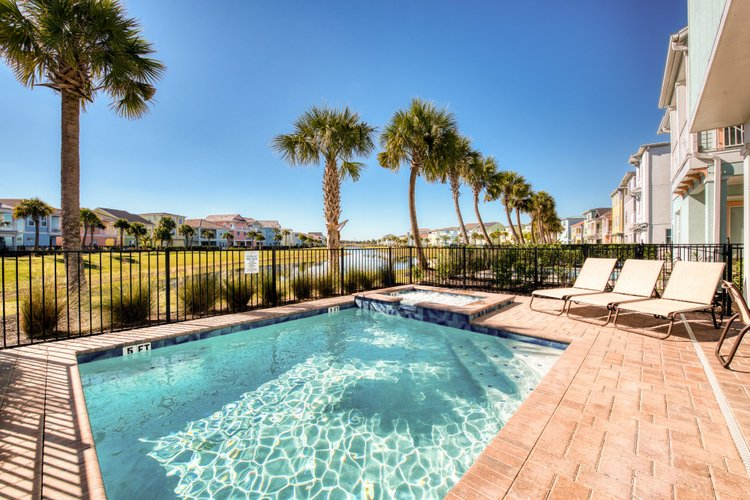 Soak up the sun from one of Margaritaville's villas with private pool