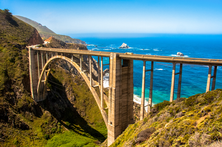Epic USA road trips don't get more scenic than the Pacific Highway in California!