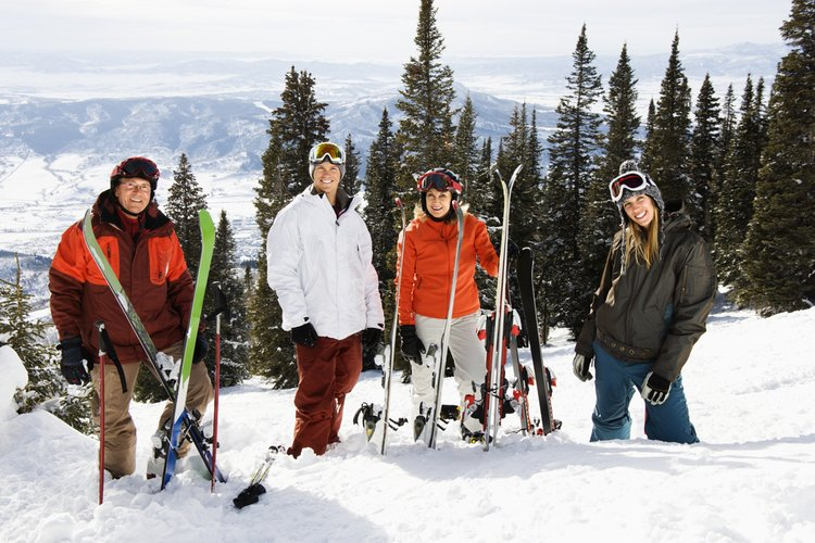 The best places for USA road trips include the best ski states in the USA!