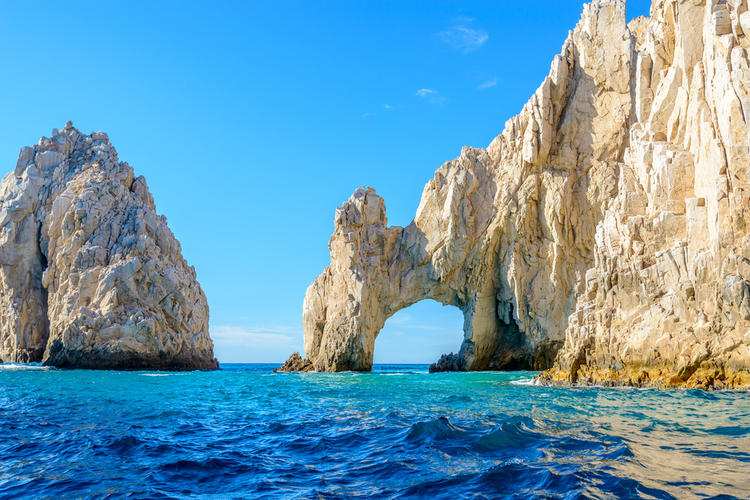 The Cabo Arch is one of the most popular attractions in Cabo San Lucas