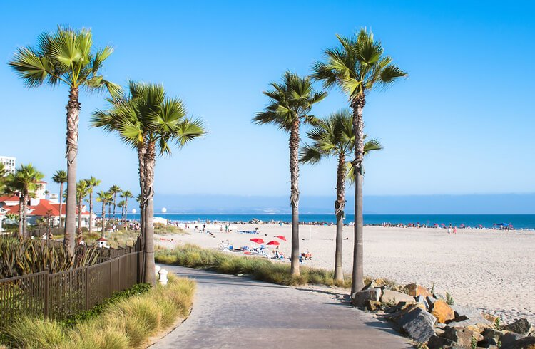 For beach vacations, San Diego is the perfect place for fun and varied family reunions!