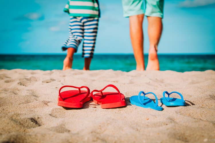 Destin in Florida is a super destination for beach-based family reunions