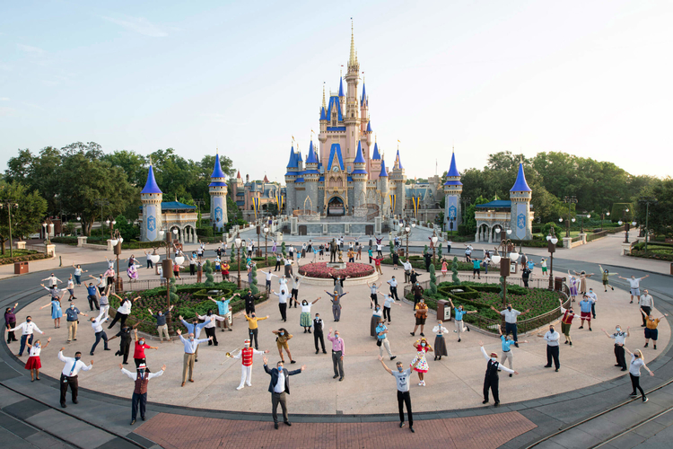 Disney World in Orlando is ready to welcome guests!