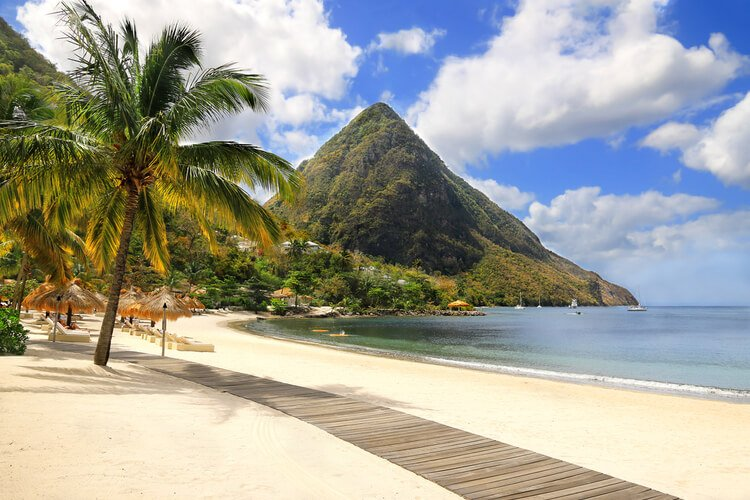 St Lucia is one of the most popular Caribbean destinations for families