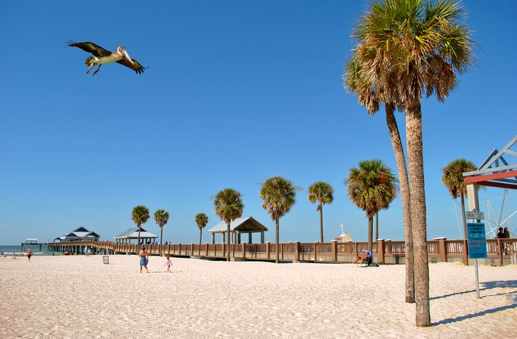 As things to do in Clearwater go hitting the beach is the No.1 pastime!
