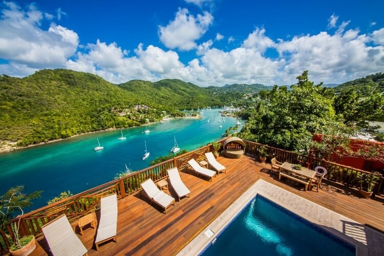 St Lucia will wow you with incredible scenery, beaches and surprisingly affordable accommodation, thanks to Top Villas!