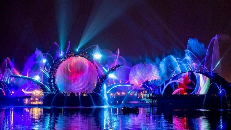 The Epcot Harmonious is set to be the largest display of its kind ever to be held at Disney.