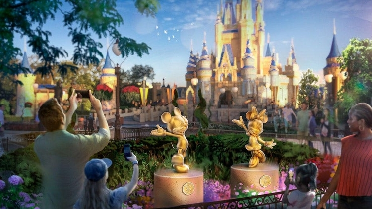 Head out on a scavenger hunt and see how many of the 50 Disney sculptures you can find!