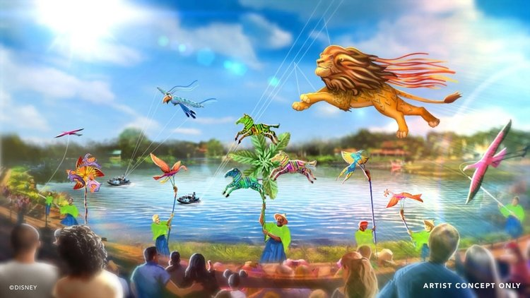 Disney's Kite Tails will debut at Magic Kingdom from October 1st, 2021.