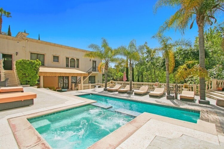 Los Angeles villa with private pool