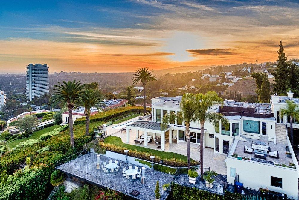 Los Angeles hillside villa