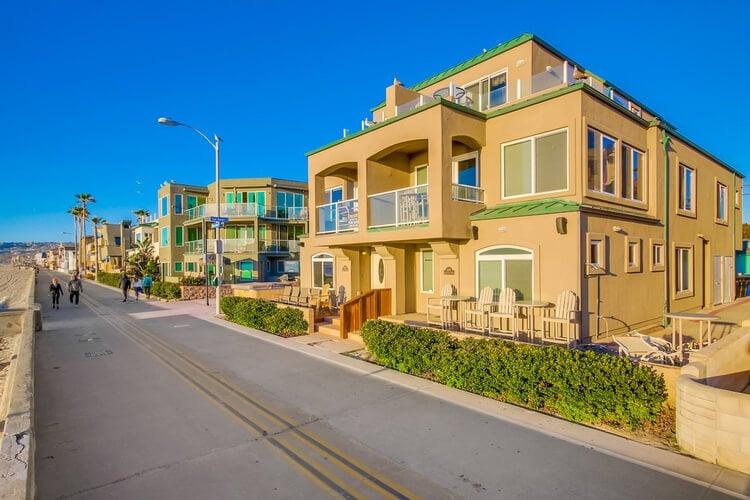 San Diego beach home